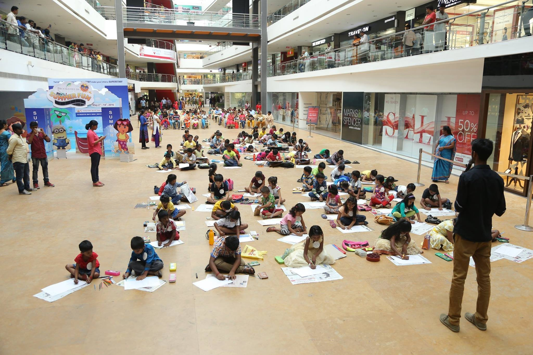 Brookefields Summer Fun 2016-Drawing competition